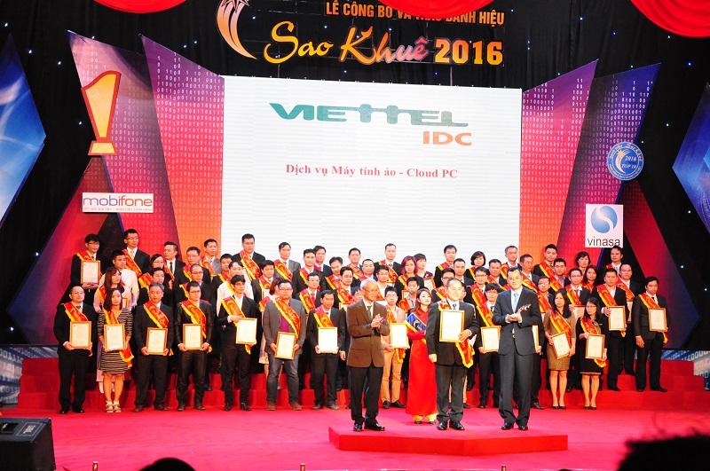 Viettel IDC nhận danh hiệu sao khuê 2016