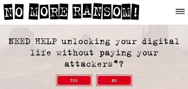 Dự án No More Ransom: 14 ngôn ngữ, 39 công cụ giải mã