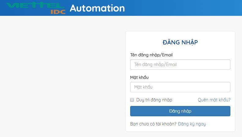 Tìm hiểu về hệ thống bán hàng tự động - Automation của Viettel IDC