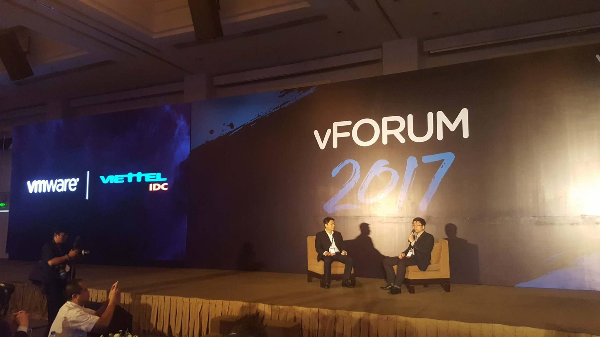 vForum 2017: Điện toán đám mây là xu hướng chính của doanh nghiệp