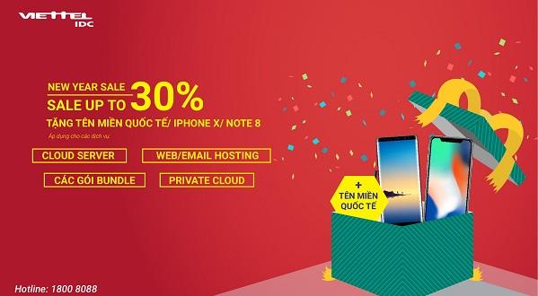 Giảm giá sâu, tặng quà khủng cho Cloud Server, Hosting, các gói bundle, Private Cloud